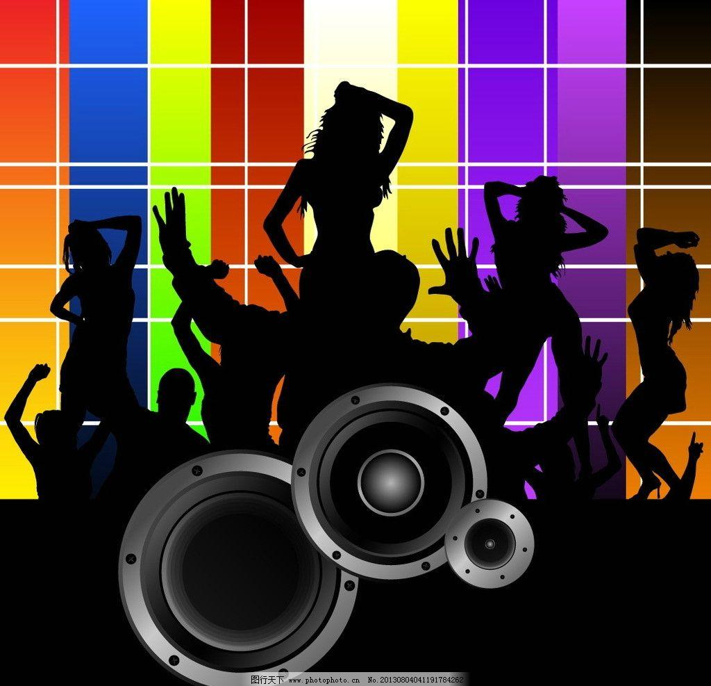 激情舞蹈音乐背景图片_片头广告_flash动画_图行天下