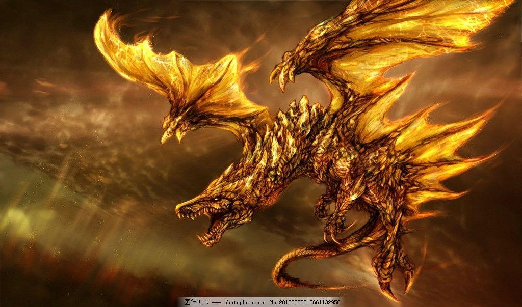 手绘龙 龙 手绘 翅膀 dragon