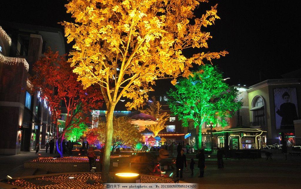 梦幻森林 北京 蓝色港湾 灯光节 商业圈 朝阳公园 节日庆祝 文化艺术