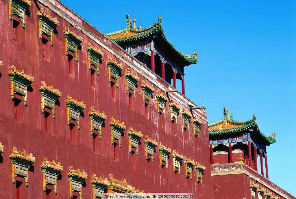 古代建筑房檐花纹