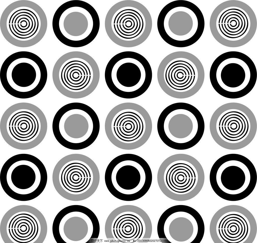 黑白圆环图片图片