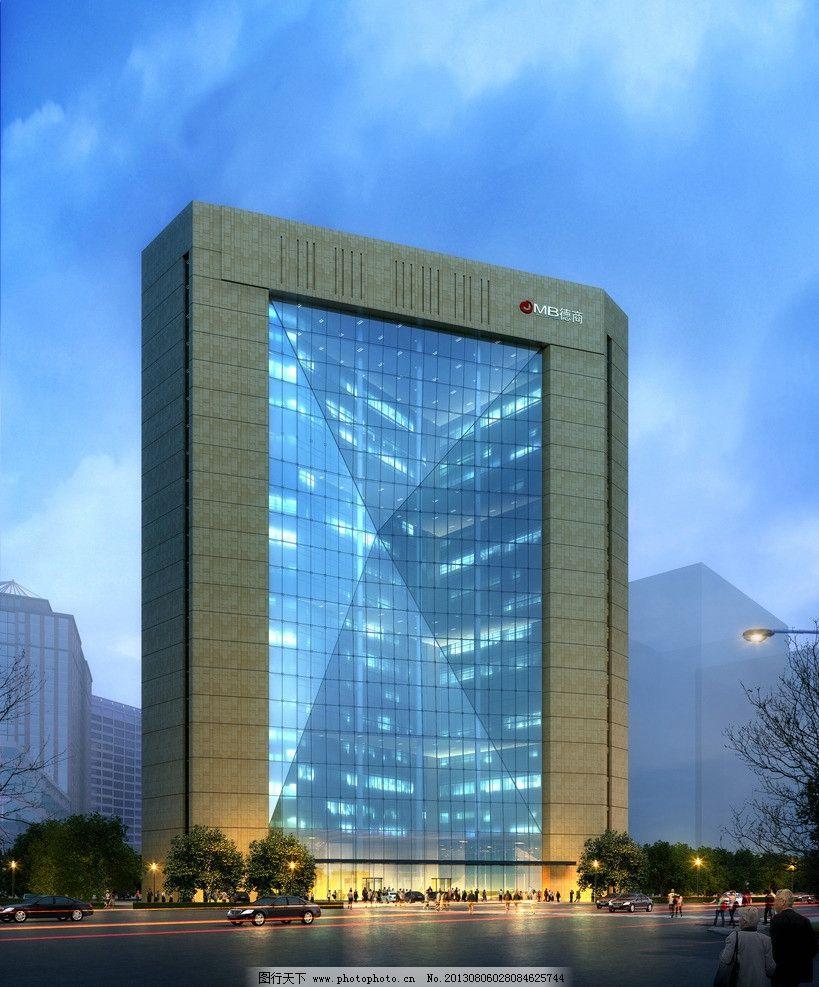 建筑透视图片