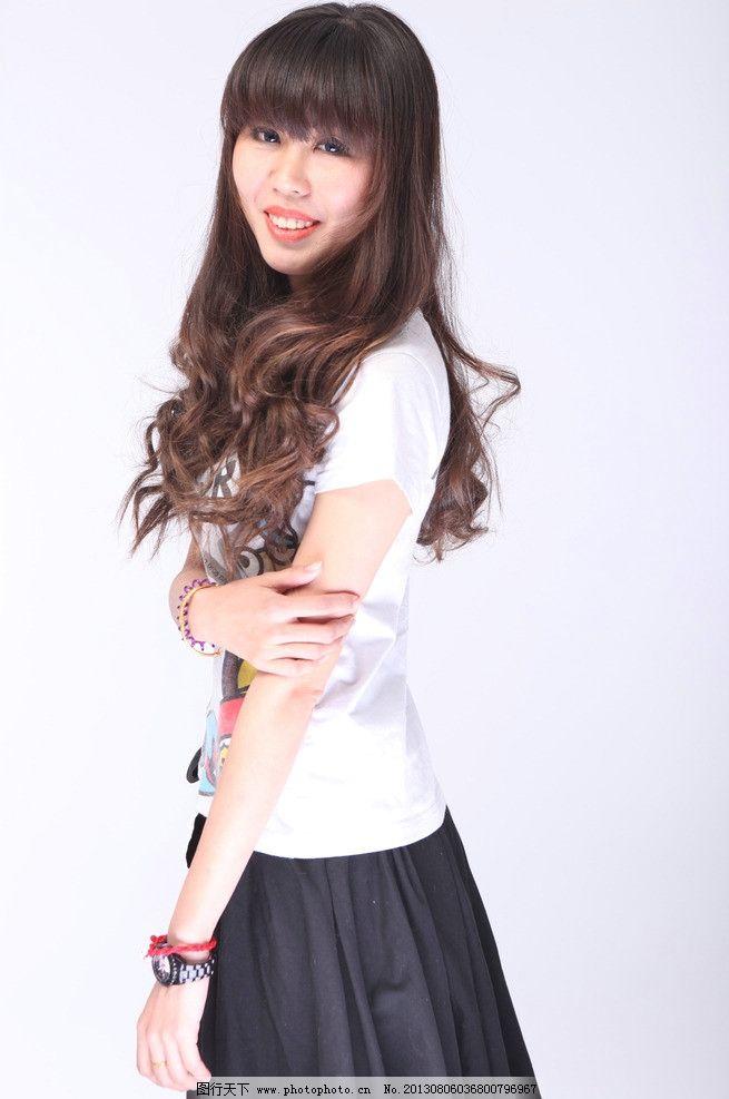 长发美女 清纯美女 气质美女 性感美女 可爱美女 青春靓丽 美女写真