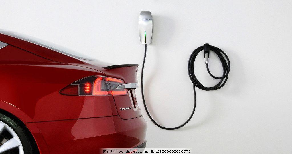 特斯拉汽车充电图片