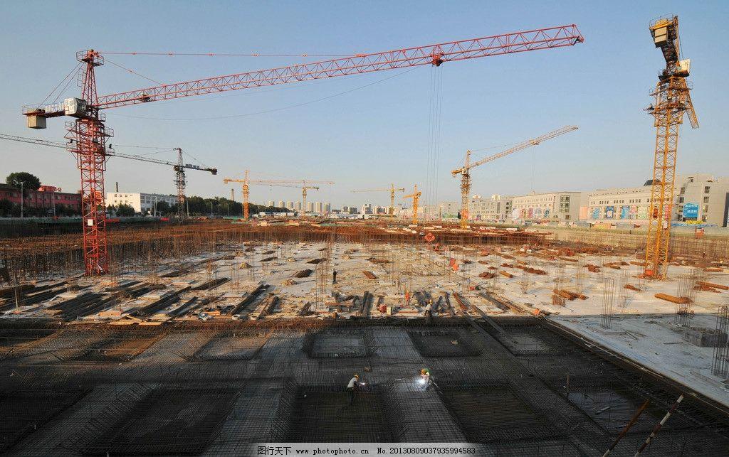 施工场景 施工现场 建筑工地 工地 工程现场 工业生产 现代科技 摄影