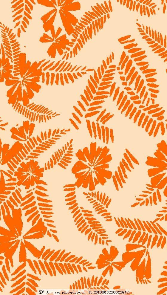 面料花纹 面料设计 墙纸设计 服装面料 小碎花 花卉 植物 叶子 底纹