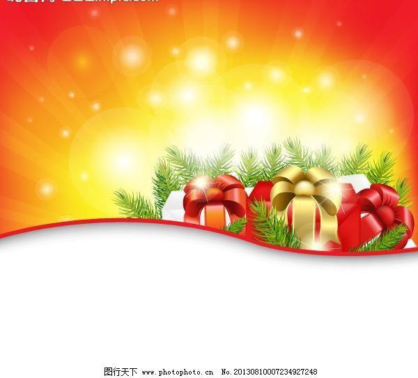 圣诞背景 文字框图片