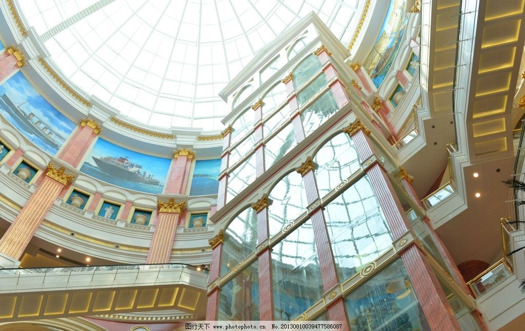 建筑圆形楼梯徽派建筑楼梯布局图片6