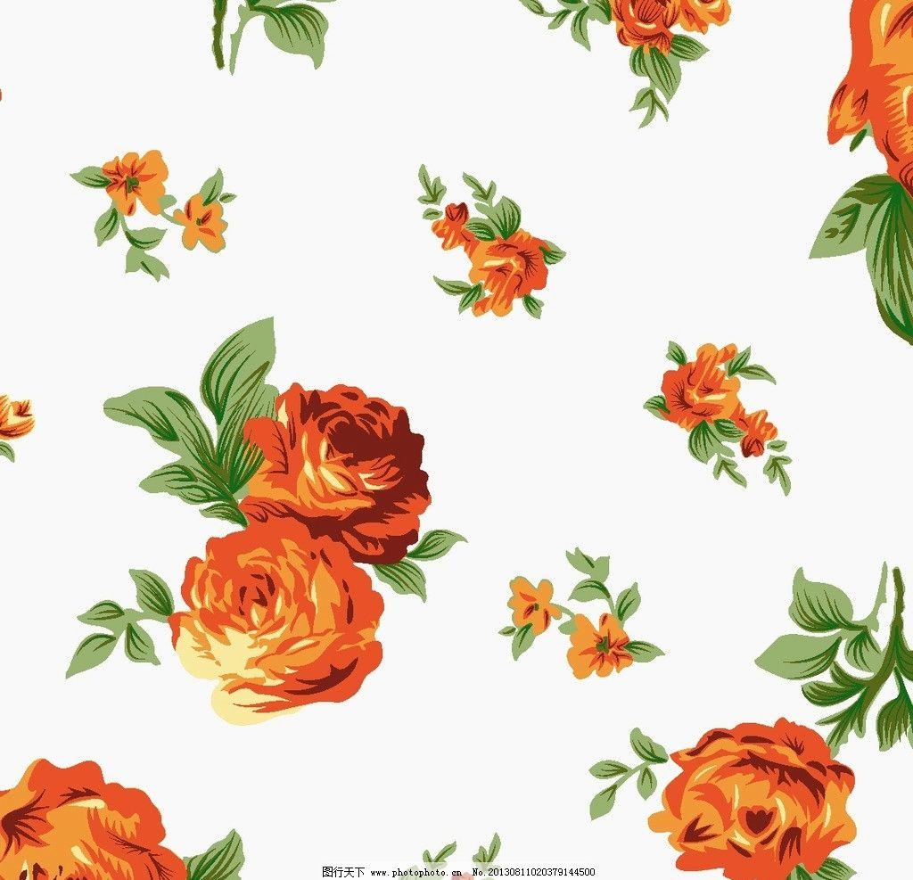 墙纸设计 服装面料 小碎花 花卉 植物 底纹 花边花纹 底纹边框 设计