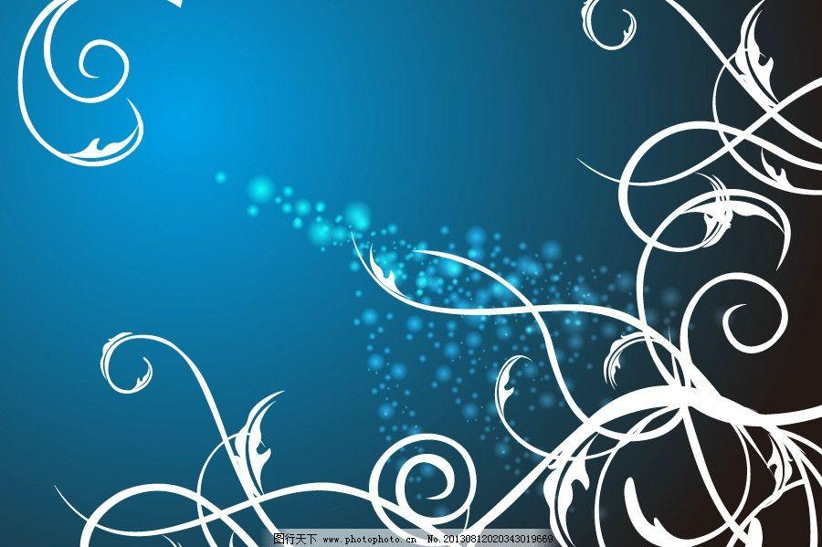 花纹 藤蔓矢量素材 藤蔓模板下载 藤蔓 欧式花纹 花边 手绘花纹 线描