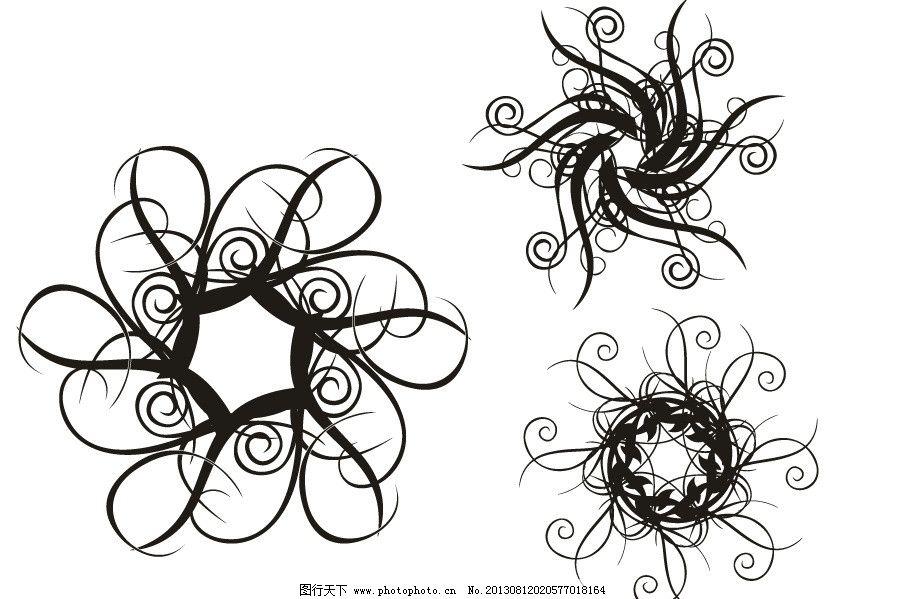 天花板 花板矢量素材 天花板模板下载 欧式花纹 花边 花纹 手绘花纹