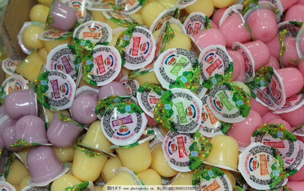 散称果冻 果冻 商品 散称 中露 超市特价商品 干货照片 传统美食 餐饮图片