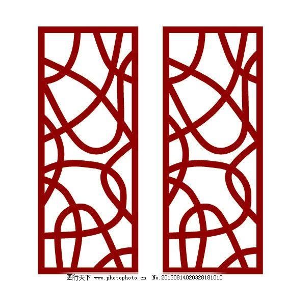 木雕 镂空雕花 雕刻花纹 镂空雕刻 花边 窗格 古纹 屏风 底纹边框