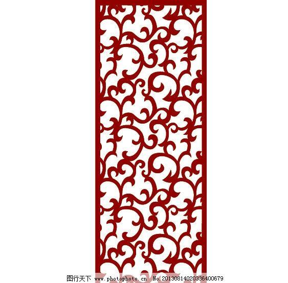 时尚花纹 韩式花纹 中式花纹 门窗花纹 流行花纹 中纤板 吊顶 背景墙图片