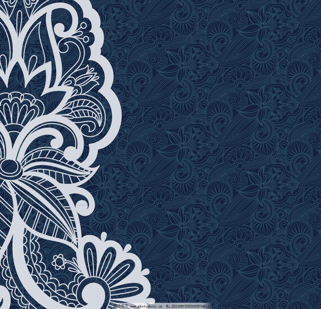 欧式 古典 花纹 花边 卡片 锦缎背景 传统花纹 装饰花纹 婚纱 婚礼