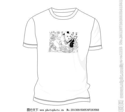 t恤衫图片手绘卡通-手绘t恤创意图案简单/t恤设计图片