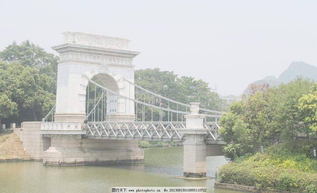 72dpi jpg 桂林 建筑 建筑摄影 建筑园林 漂亮 桥梁 摄影 欧式桥图片