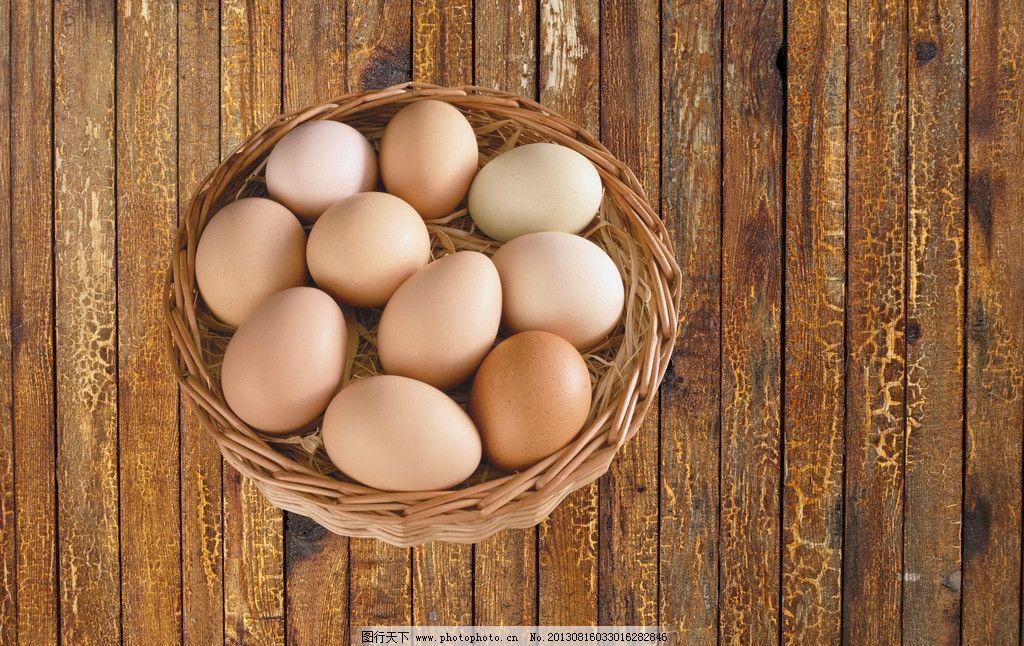一筐鸡蛋 鸡蛋 筐子 木地板 本地鸡蛋 家养鸡蛋 psd分层素材 源文件 3图片