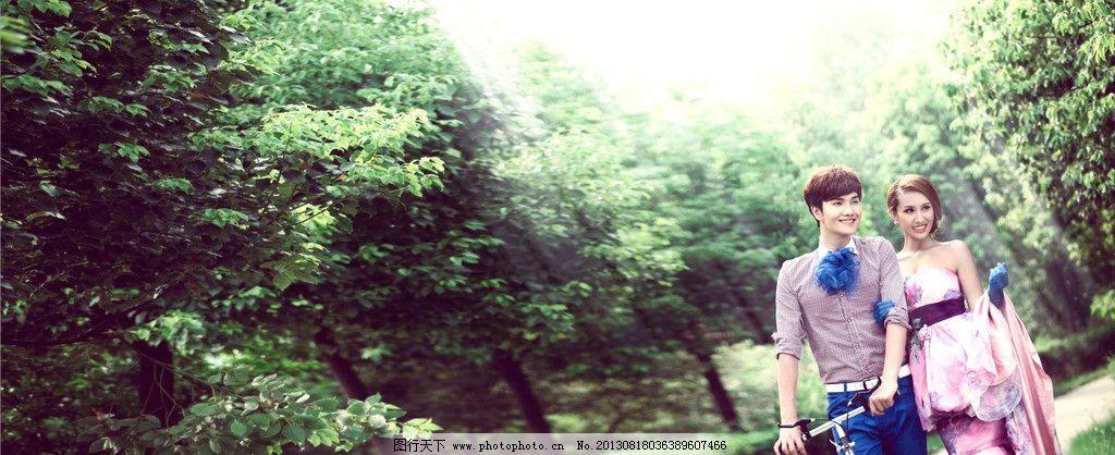 婚纱摄影 外景婚纱照 影楼样片 婚纱摄影图 韩式婚纱照 美女 帅哥