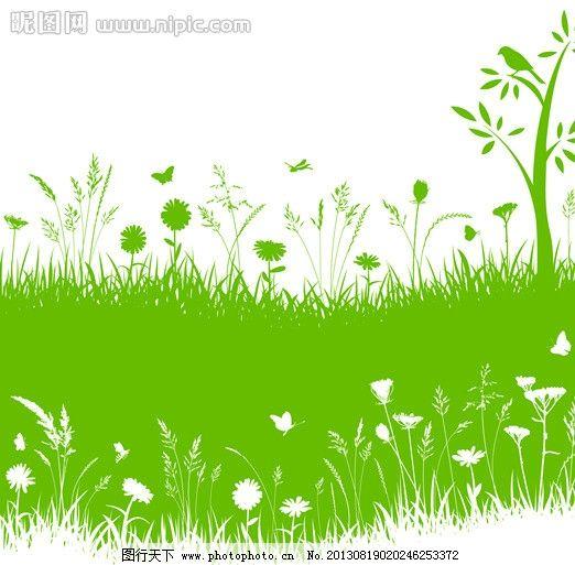 绿色色主题 绿色 自然 创意设计 背景素材 绿色空间 底纹背景 名片 信