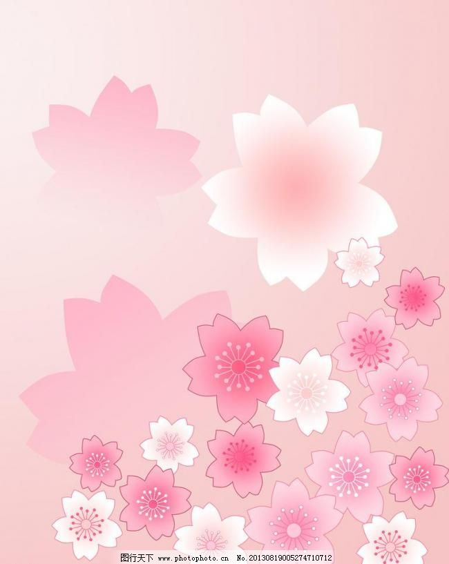花纹移门图案 底纹边框 粉红色背景 花蕾 鲜花 花纹移门图案设计素材