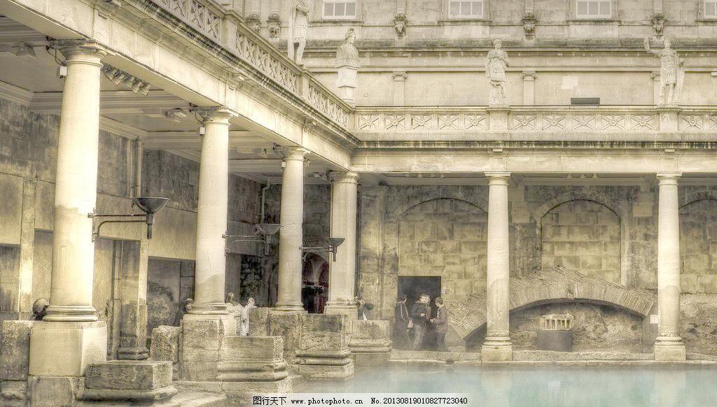 欧式古建筑图片_其他_装饰素材