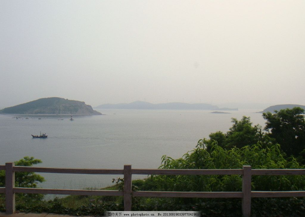 海边 沙滩 青岛 崂山 巨峰风景区