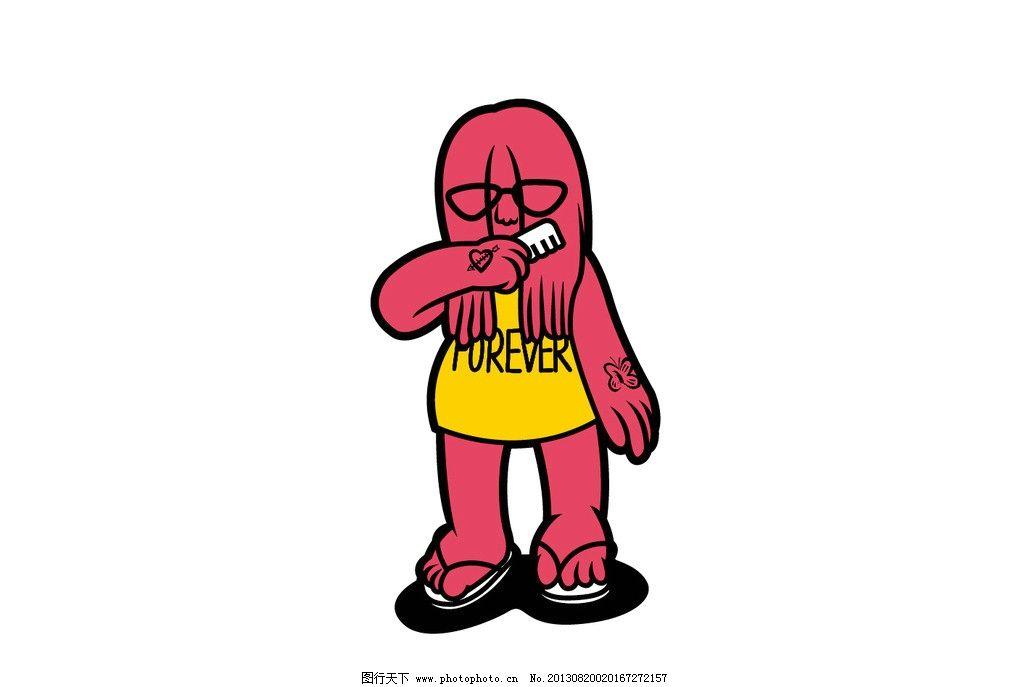 卡通动漫人物设计图片