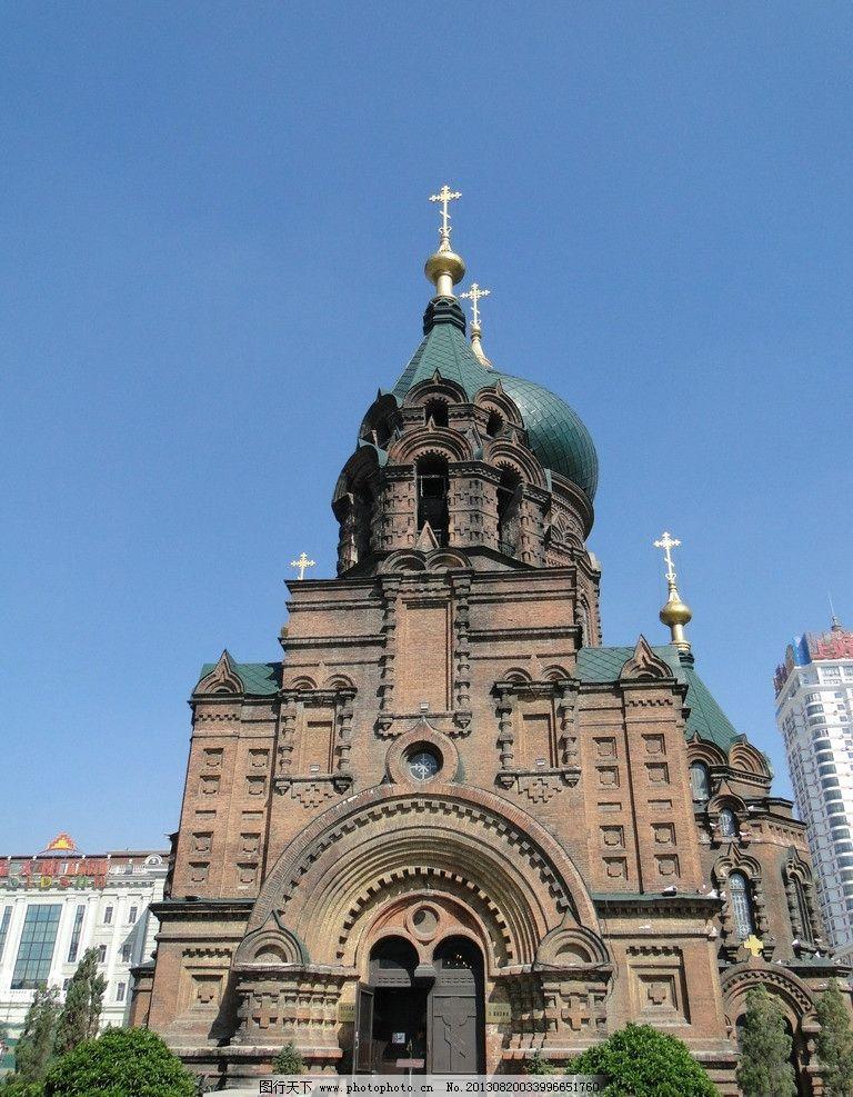 哈尔滨索菲亚教堂图片