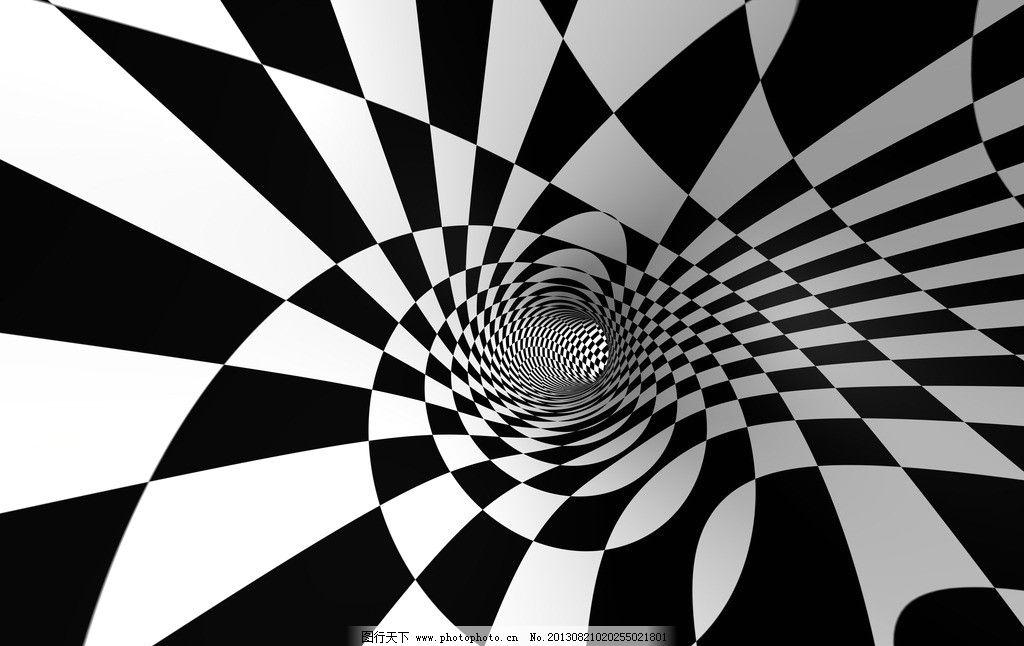 黑白格子背景图片
