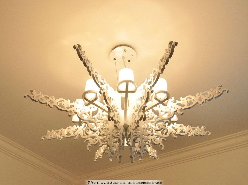 花式灯 灯 雕花 灯光 欧式 吊灯 室内摄影 建筑园林 摄影 300dpi jpg