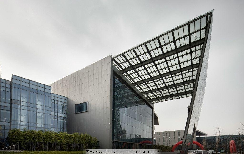建筑 现代建筑 办公楼 门头 玻璃幕墙 现代外观 建筑摄影 建筑园林