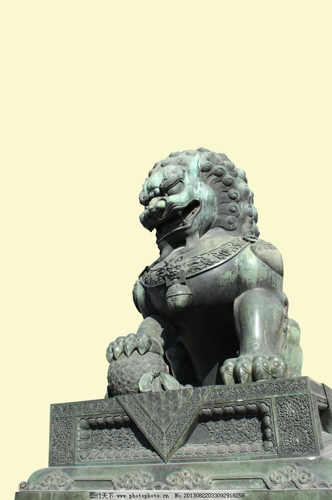 石狮子雕像3d模型下载