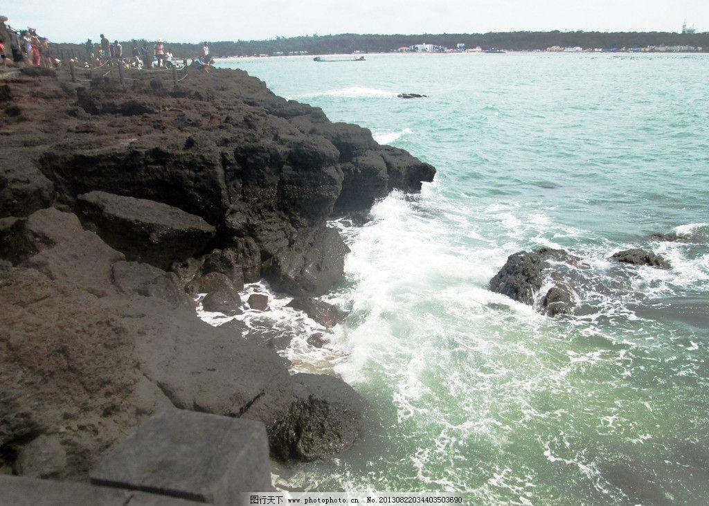 大海焦石 沿石 浪花 水 山水风景 自然景观 摄影