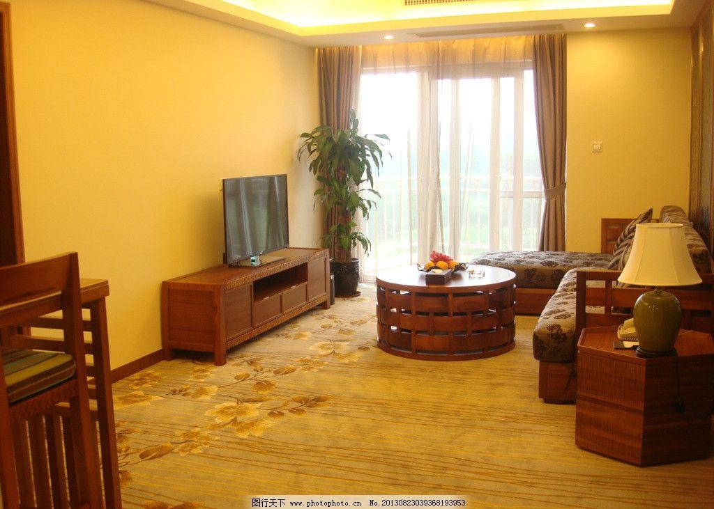 家庭套房客厅图片