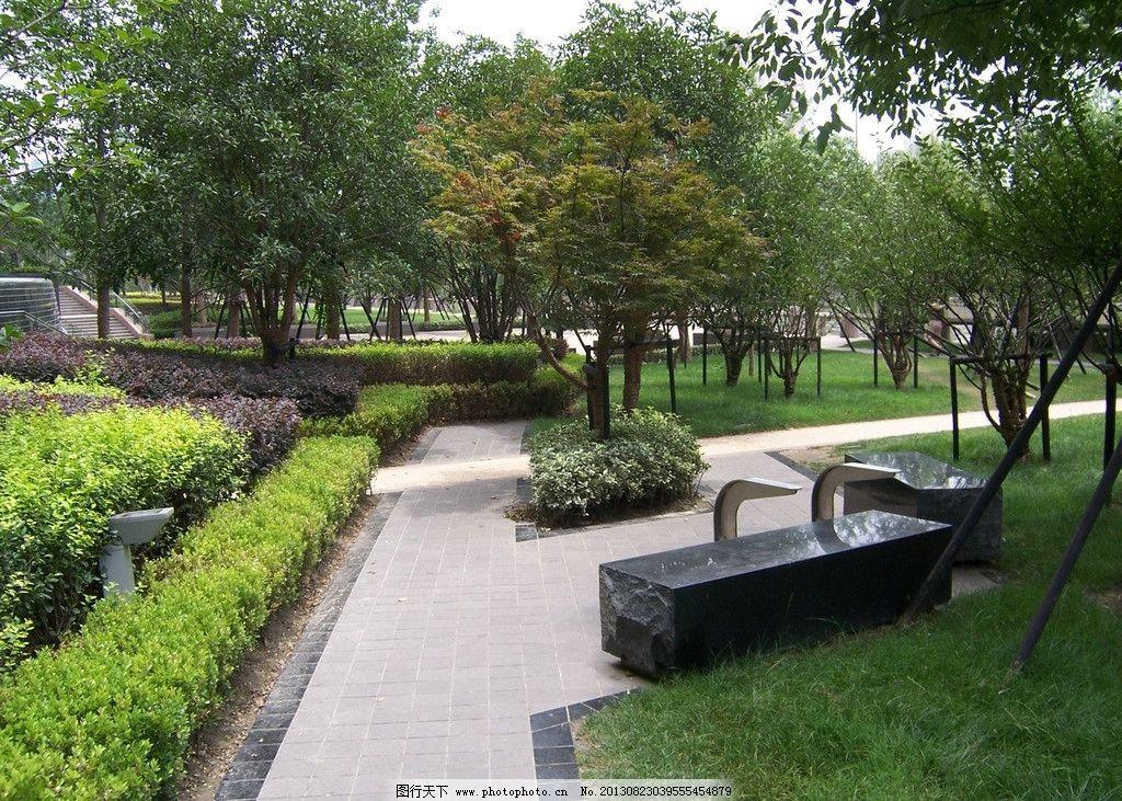深蓝广场 整石坐凳 现代 景观设计 商业 园林建筑 建筑园林 摄影 230