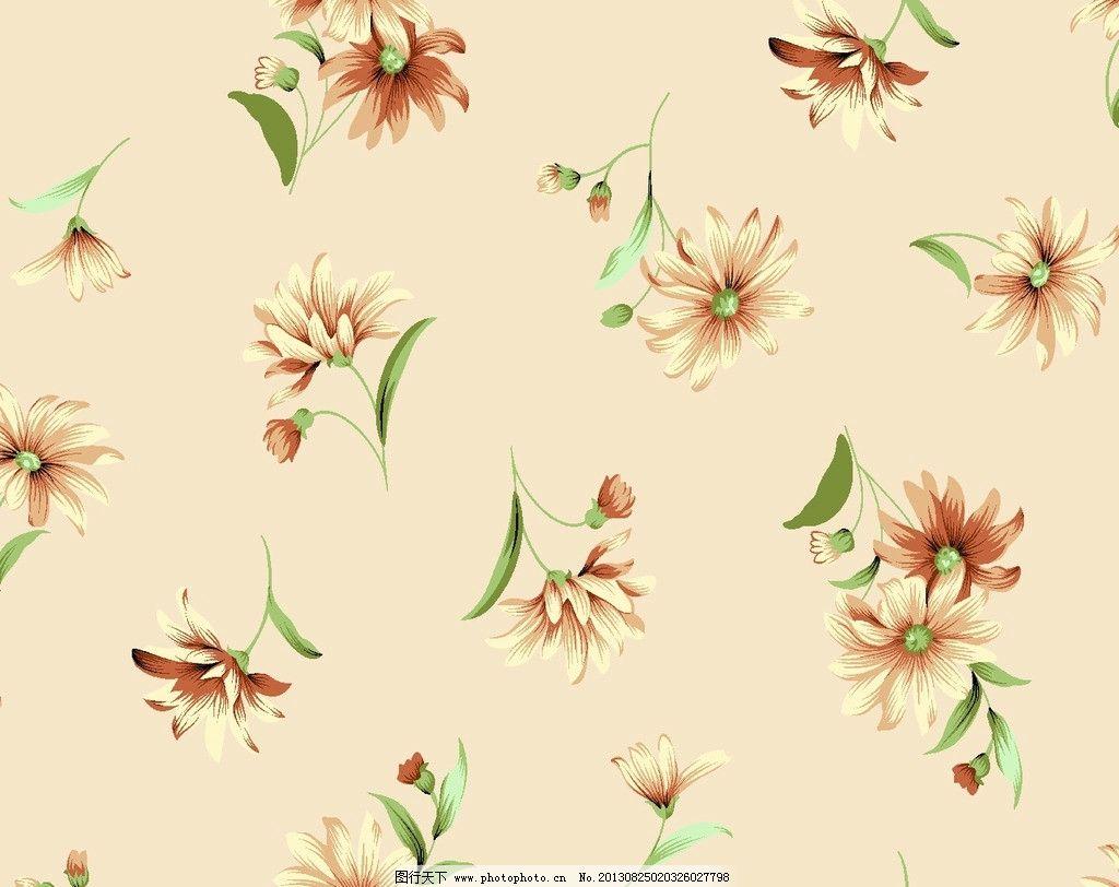 面料设计 墙纸设计 服装面料 小碎花 花卉 植物 花边花纹 底纹边框