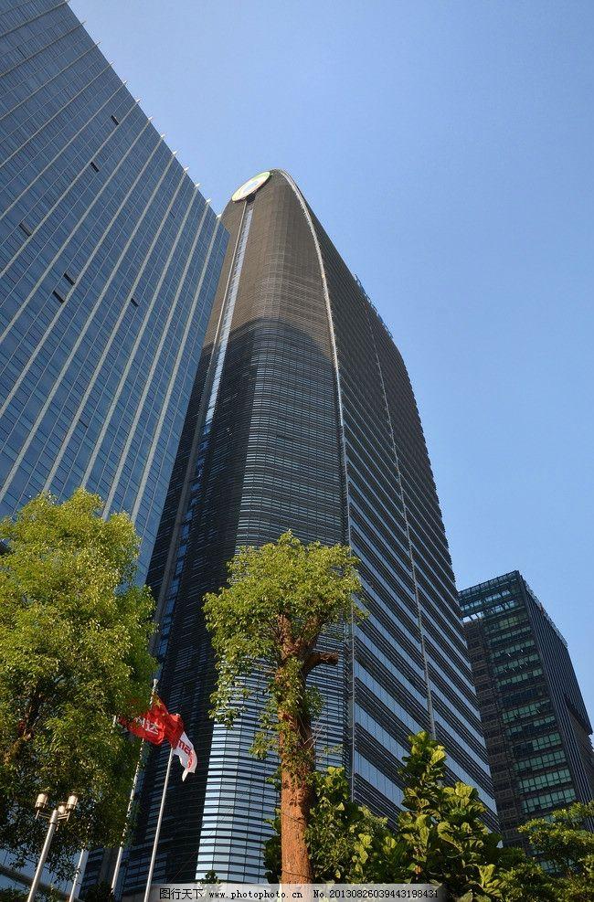 深圳建筑 高档写字楼 现代建筑 城市建筑 建筑物 腾讯办公楼 玻璃幕墙