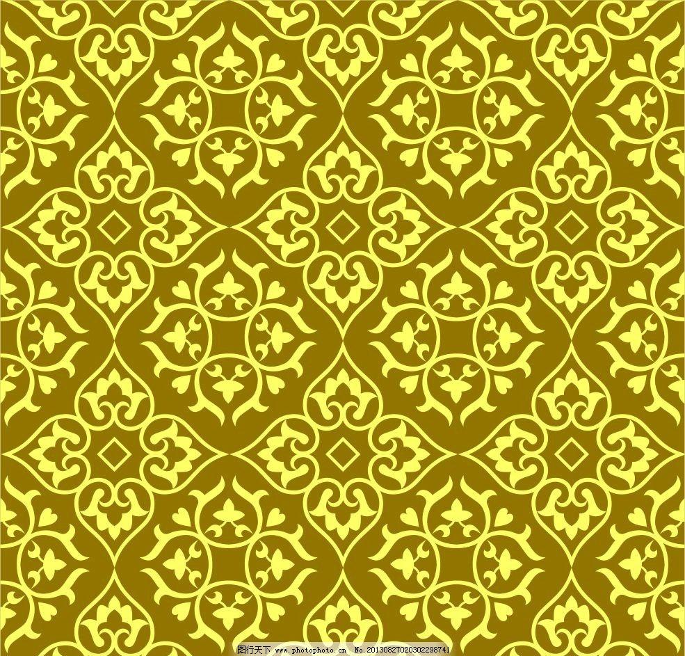 菱形 花纹矢量 底纹 植物矢量 图案 四方形花纹 花纹花边 底纹边框