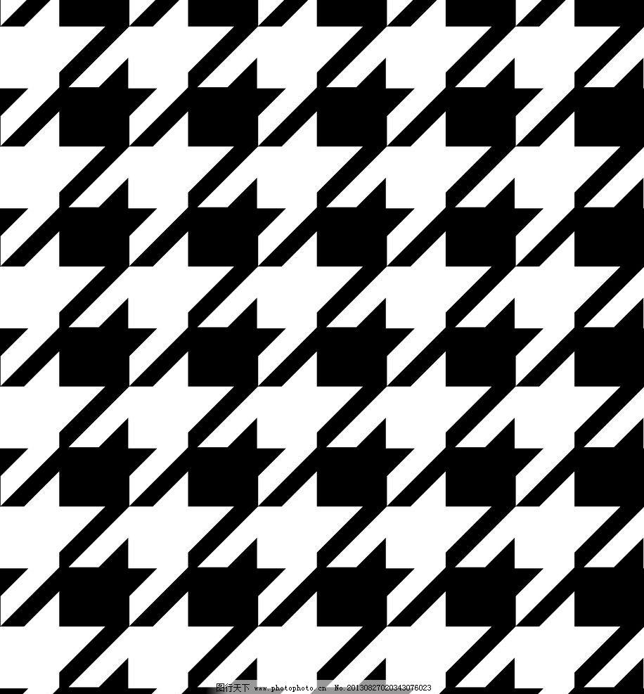 黑白底纹图片_花边花纹_底纹边框_图行天下图库