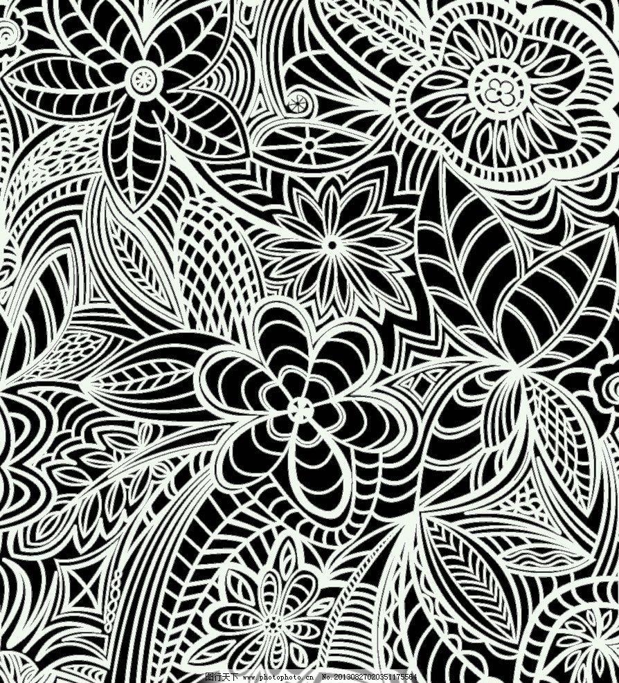 设计图库 底纹边框 花边花纹  面料 墙纸 花纹 底纹 面料设计 布料