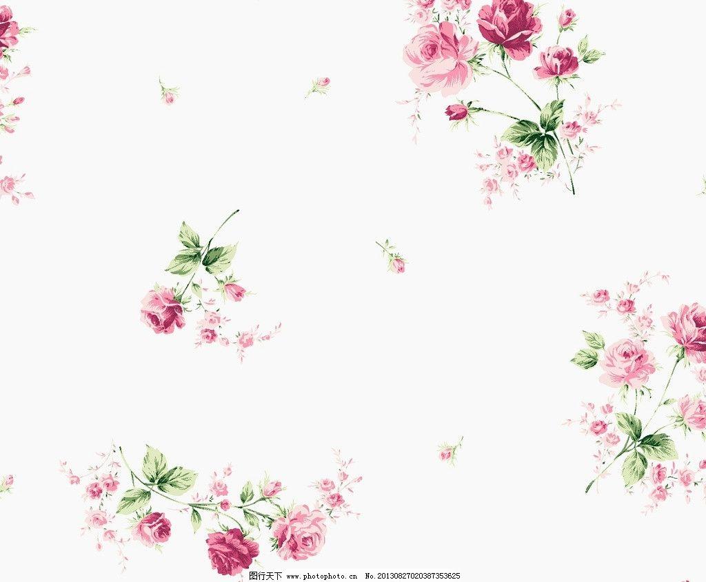 面料设计 墙纸设计 服装面料 花卉 植物 叶子 底纹 花边花纹 底纹边框