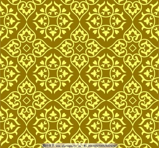 菱形花纹编织图解