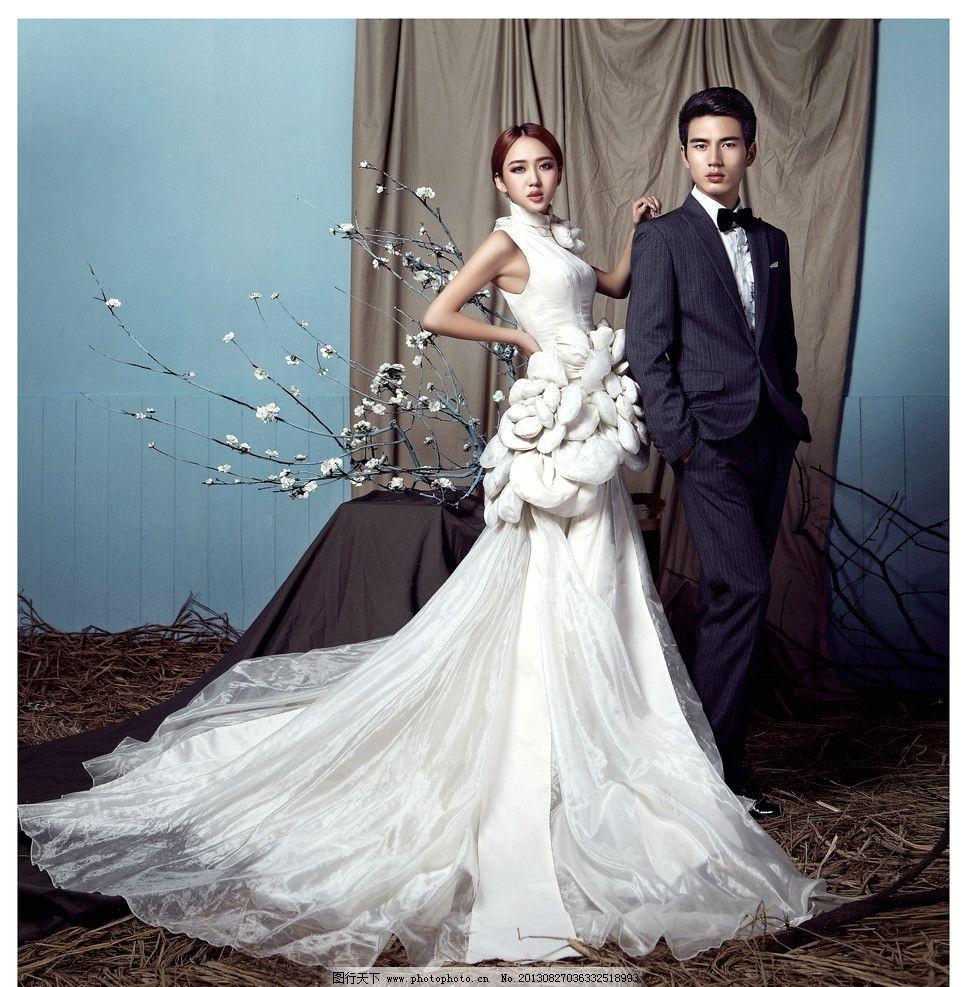婚纱照 婚纱照图片素材下载 个性婚纱照 室内婚纱 漂亮新娘 人物摄影