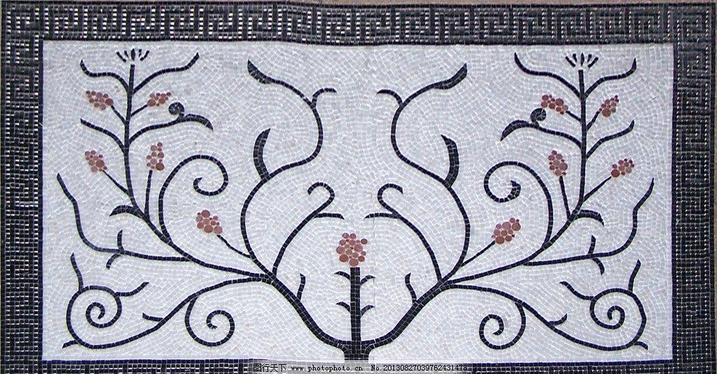 装饰马赛克拼花纹理 材质 贴图 建筑园林 摄影