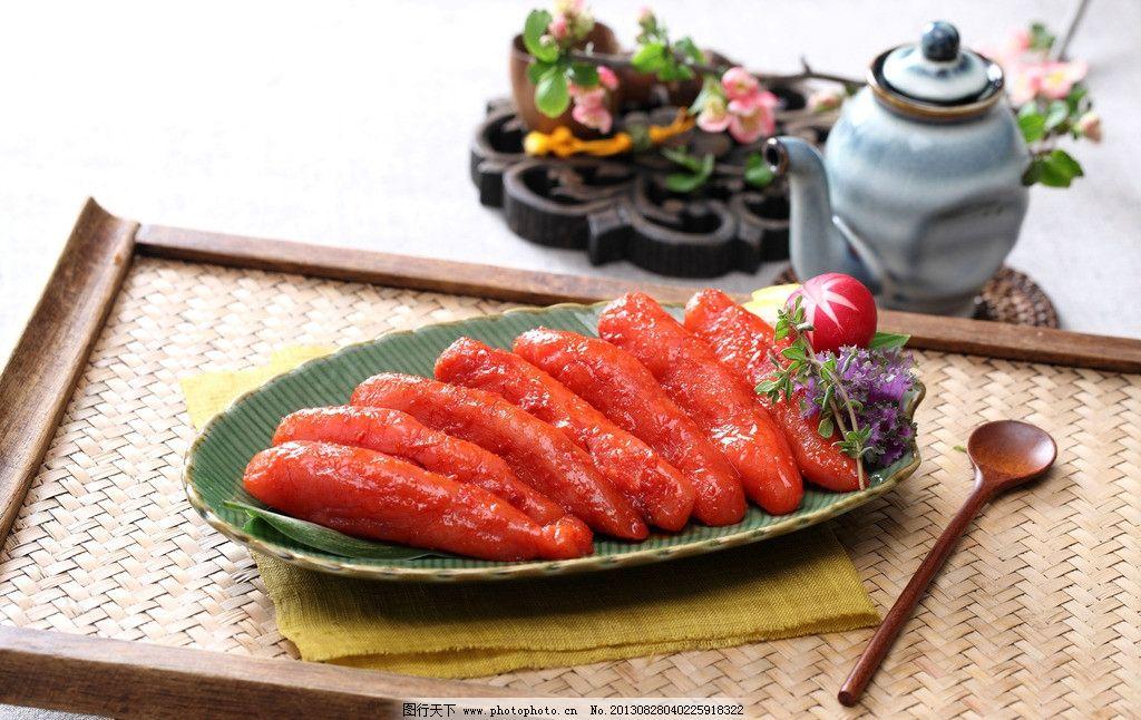 明太鱼籽 韩式配菜 韩式小菜 韩式明太鱼籽 明太鱼 传统美食 餐饮美食图片