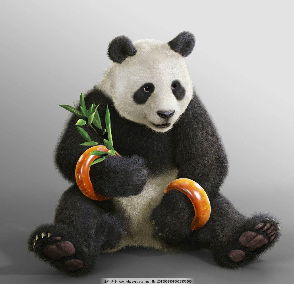 大熊猫 动漫 3d 卡通 熊猫 游戏 其他 动漫动画 设计 72dpi jpg