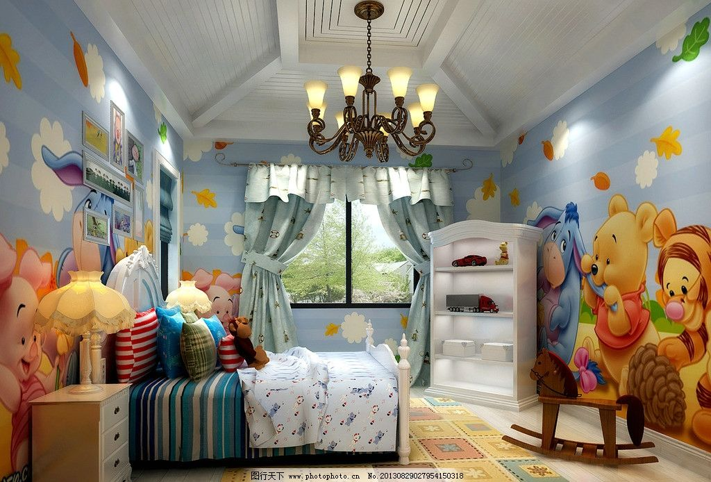 儿童房图片_室内设计_环境设计_图行天下图库
