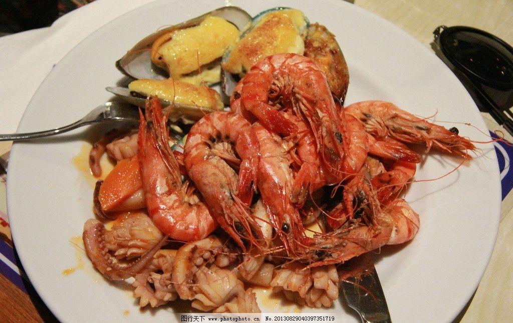 塞班岛 海鲜 烹饪 自助餐 西餐 美食 国外美食 大虾 贝壳 烧烤 西餐