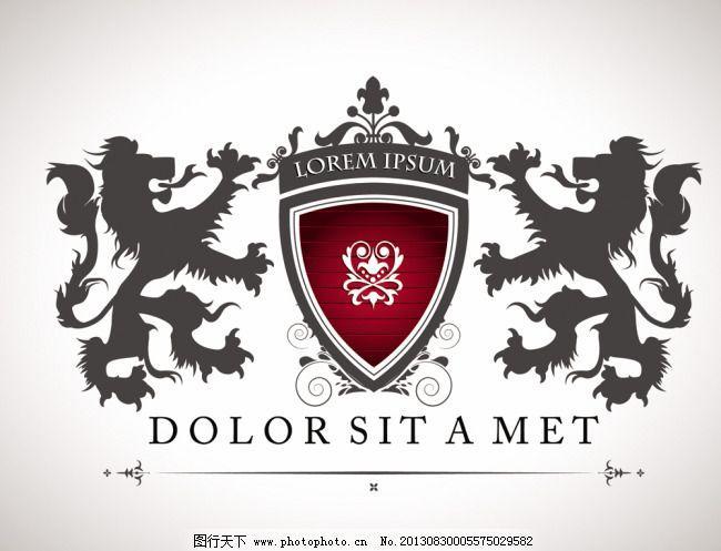 雕刻logo 狮子